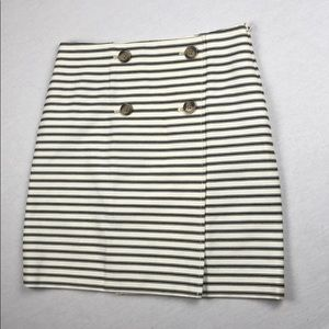 Ann Taylor LOFT striped skirt